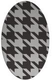 rug #405457 | oval red-orange rug