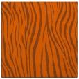 rug #406929 | square red-orange rug