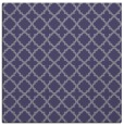 rug #410273 | square blue-violet rug
