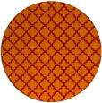rug #411485 | round orange rug