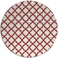 rug #411491 | round traditional rug
