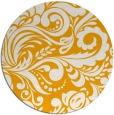 rug #413337   round light-orange rug