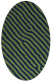rug #419374 | oval stripes rug
