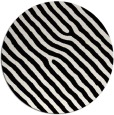 rug #420045 | round black rug