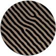 rug #420053 | round black rug