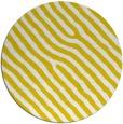 rug #420341 | round yellow rug