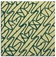 rug #424469 | square yellow rug