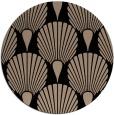 rug #427093   round beige rug