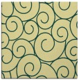 rug #427989   square yellow rug