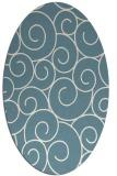 rug #428162   oval circles rug
