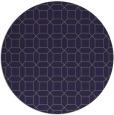 rug #430709 | round blue-violet rug