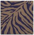 rug #433173 | square blue-violet rug