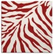rug #433313 | square red rug