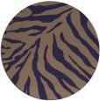 rug #434229 | round blue-violet rug