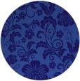 rug #439505 | round blue-violet rug