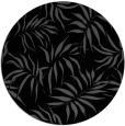 rug #444689   round black rug