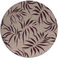 rug #444837   round pink rug