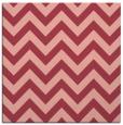 rug #454401 | square pink rug