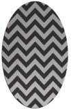 rug #454737 | oval red-orange rug