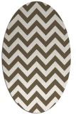 rug #454831   oval stripes rug