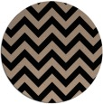 rug #455253   round black rug