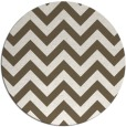 rug #455535 | round stripes rug