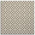 rug #456085   square mid-brown rug