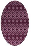 rug #456390   oval circles rug
