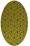 rug #461897 | oval light-green rug