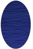 rug #463441   oval blue-violet rug