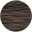 rug #464053 | round black rug