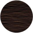 rug #464057 | round black rug