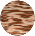 rug #464240 | round stripes rug
