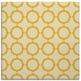 rug #465033 | square yellow rug