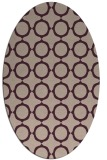 rug #465253 | oval pink rug