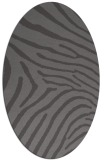 rug #472285 | oval brown rug