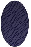 rug #473981 | oval blue-violet rug