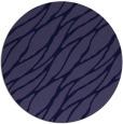 rug #474685 | round blue-violet rug