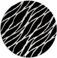 rug #474873 | round black rug