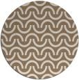 rug #478273   round beige rug