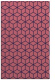 rug #483141 |  blue-violet rug