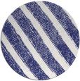 rug #485441 | round blue rug