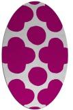 rug #496877 | oval circles rug