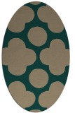 rug #496899 | oval graphic rug