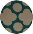 rug #497603   round graphic rug
