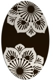rug #502354 | oval graphic rug