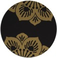 rug #502781 | round black rug