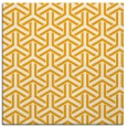 rug #505561 | square light-orange rug