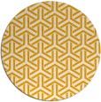 rug #506617   round light-orange rug