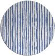 rug #508081 | round blue rug